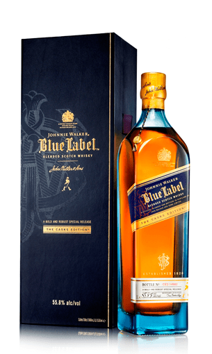 Comprar Johnnie Walker Blue litro (whisky escocés) - Mariano Madrueño
