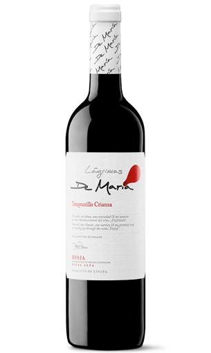 Lágrimas de María Crianza - Rioja, Tempranillo