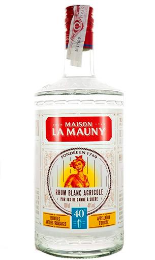 La Mauny Blanco 40º Litro - Ron agrícola de la Martinica