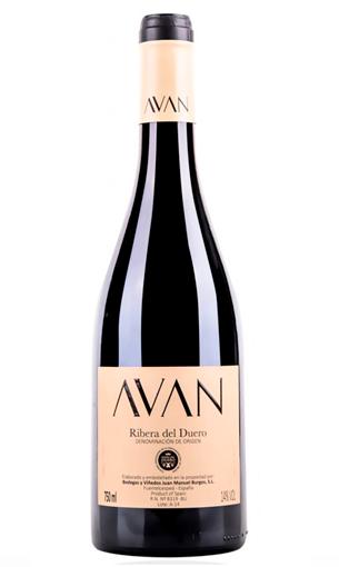 Avan (vino tinto Ribera del Duero) - Mariano Madrueño