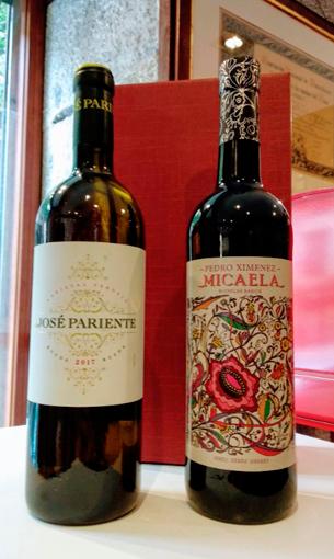 Pack caja 2 botellas: José Pariente + Micaela - Comprar vinos online