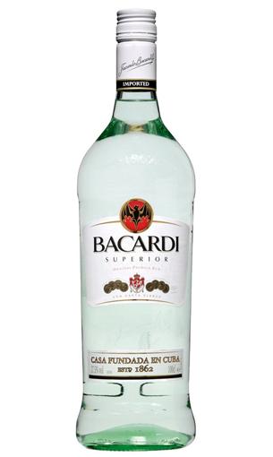 Comprar ron Bacardi Litro blanco