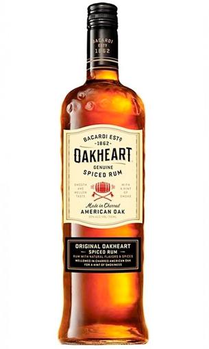Bacardi Oakheart Spiced rum- Comprar ron premium