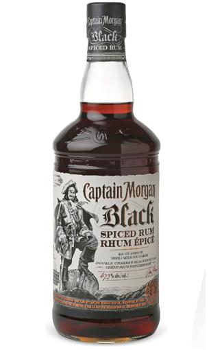Captain Morgan Black Spiced - Comprar ron preimium 1 litro