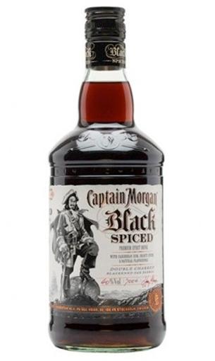 Captain Morgan Black Spiced - Comprar ron preimium 70 cl