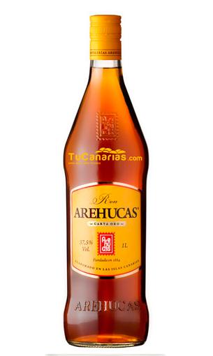 Comprar Arehucas Carta Oro litro (ron) - Mariano Madrueño