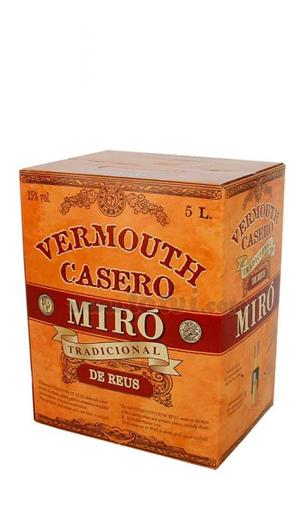 Vermut Miró Casero - comprar vino generoso