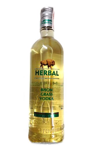 Stumbras Herbal Bison Grass litro (vodka de Lituania) - Mariano Madrueño